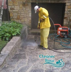 pressure cleaning bow